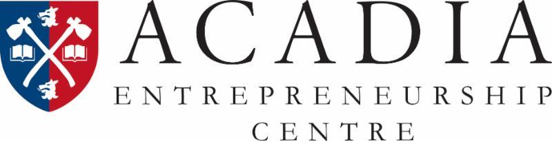 Acadia entrepreneurship centre