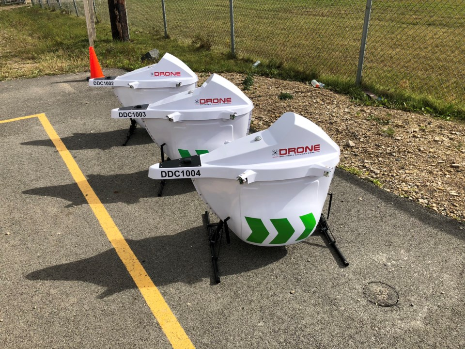 Drone to first nations